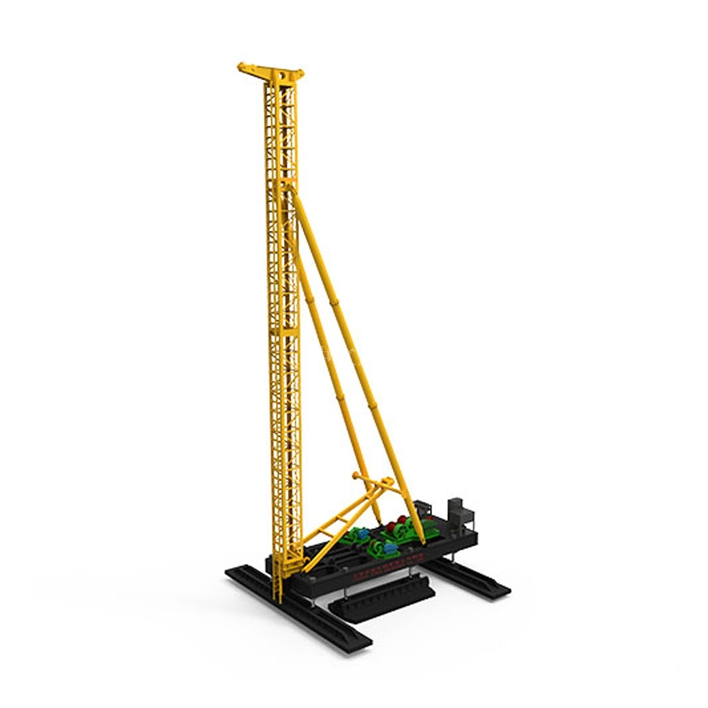 ZJB series hydraulic walking piling rig